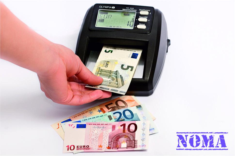 valutas detektora noma