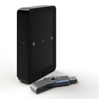 T-USB1100 Cilvēku skaitītājs